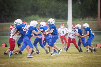 SWCS Mid High Football Patriots